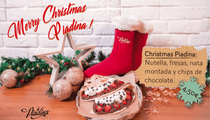 ¡Merry Christmas para todos los Piadinos!
