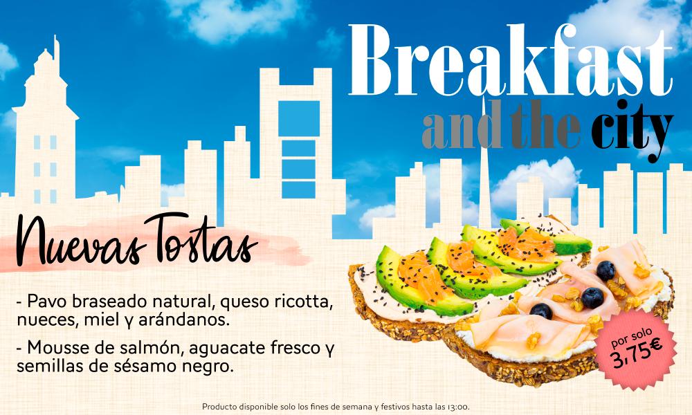 Desayunar saludable y completo: Nuevas Tostas