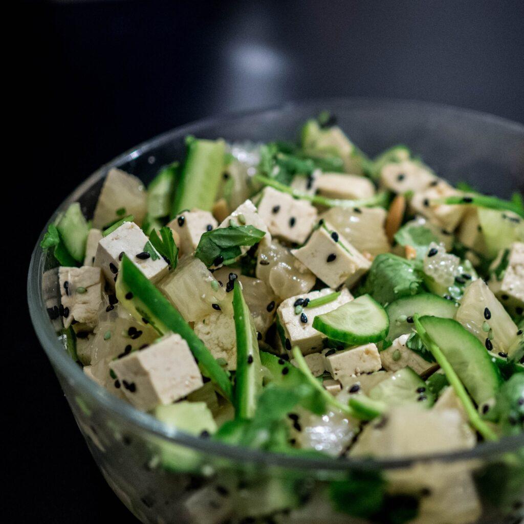 Productos de origen vegetal- Tofu